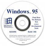 Windows 95 Build 345