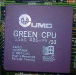 UMC GREEN CPU U5SX 486-25/33